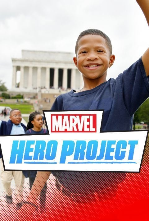 Disney Plus - Marvel's Hero Project - Poster