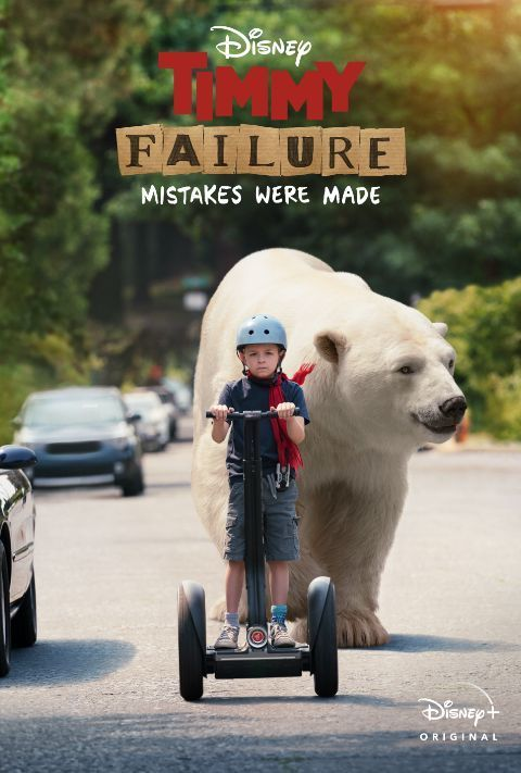 Disney Plus - Timmy Failure: Mistakes Were Made - Poster