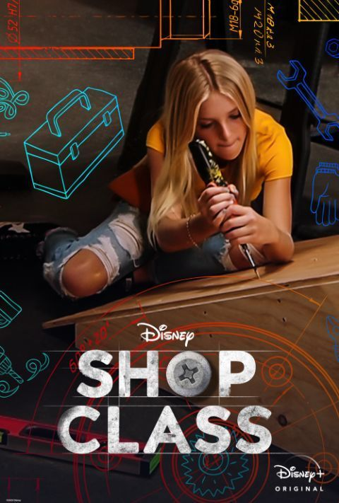 Disney Plus - Shop Class - Poster