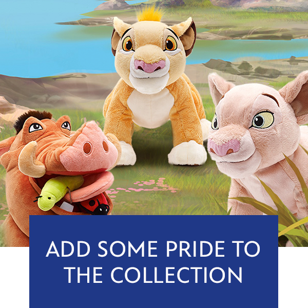 Lion King New Plushes