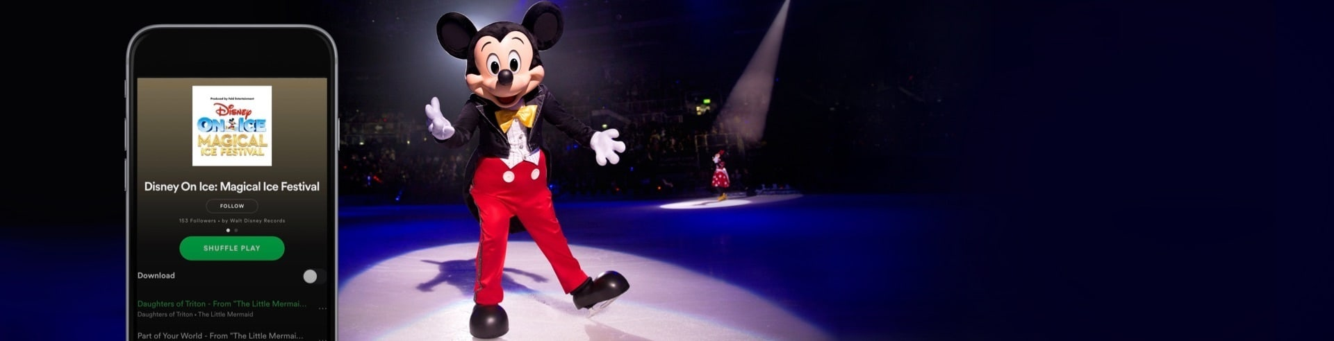 Listen now on Spotify to the Disney On Ice: Magical Ice Festival Playlist