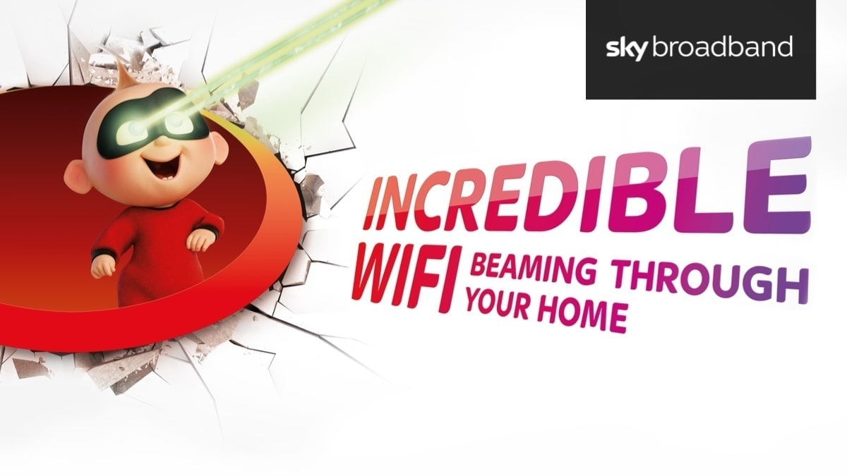 Sky Broadband - Incredibles 2