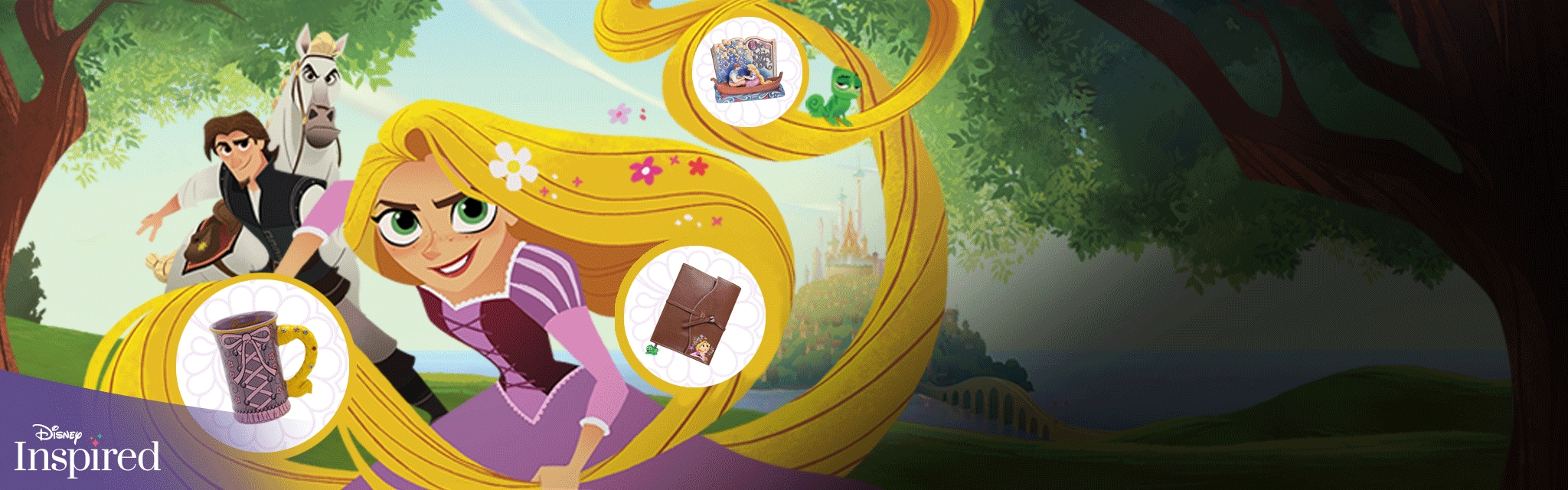 Tangled Wish List Disney Inspired Hero