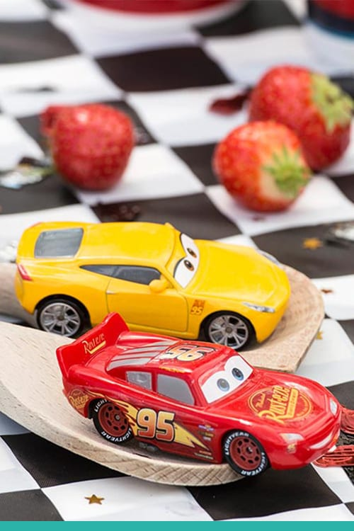 Cars 3 Car and Spoon Duel