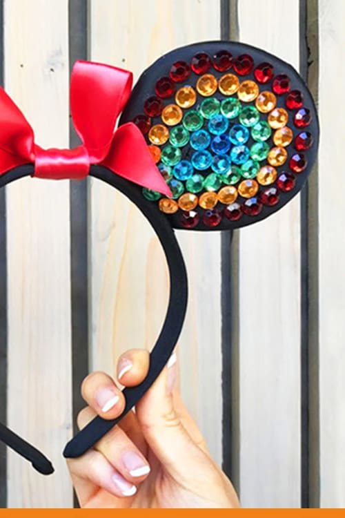 Minnie Rainbow Ears