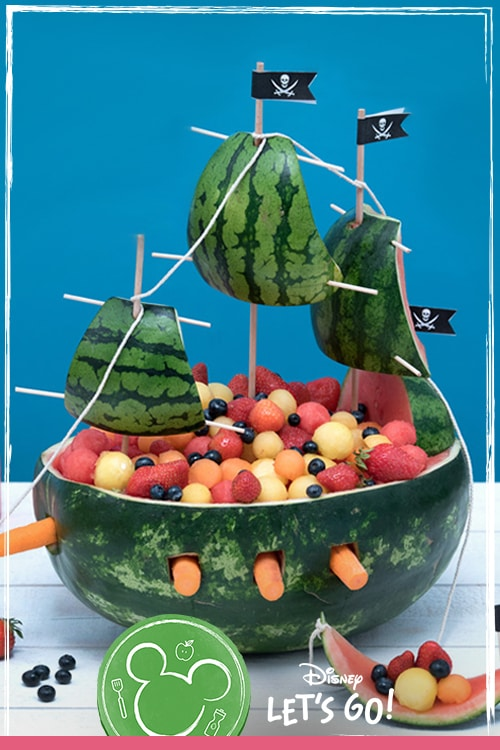 Captain Jack Sparrow's Fruit Ship