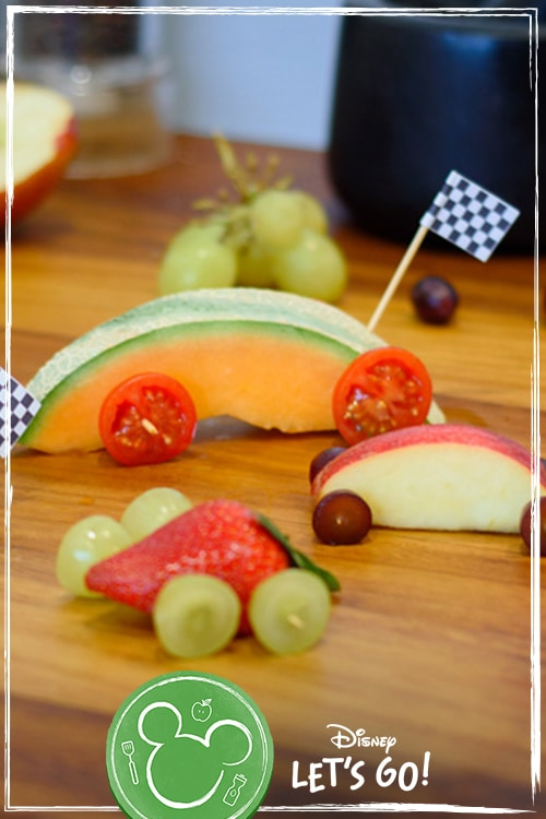 Fun Fruit Cars Snacks