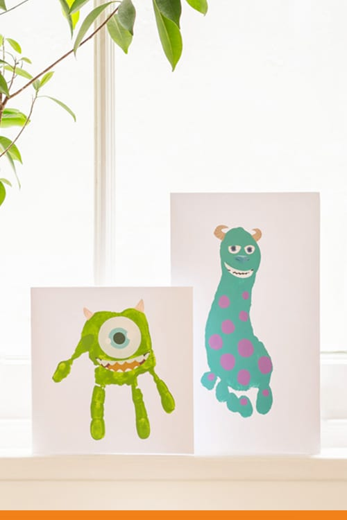 Little Monster Father's Day Cards
