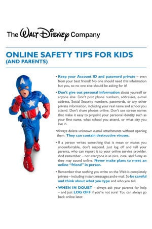 UK - Online Safety Tips