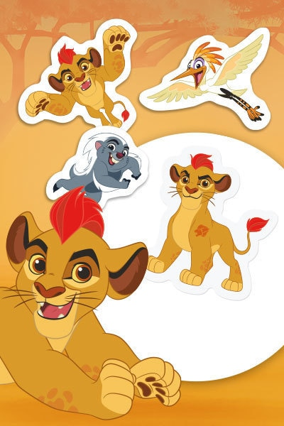 Father's Day Lion Guard Badge