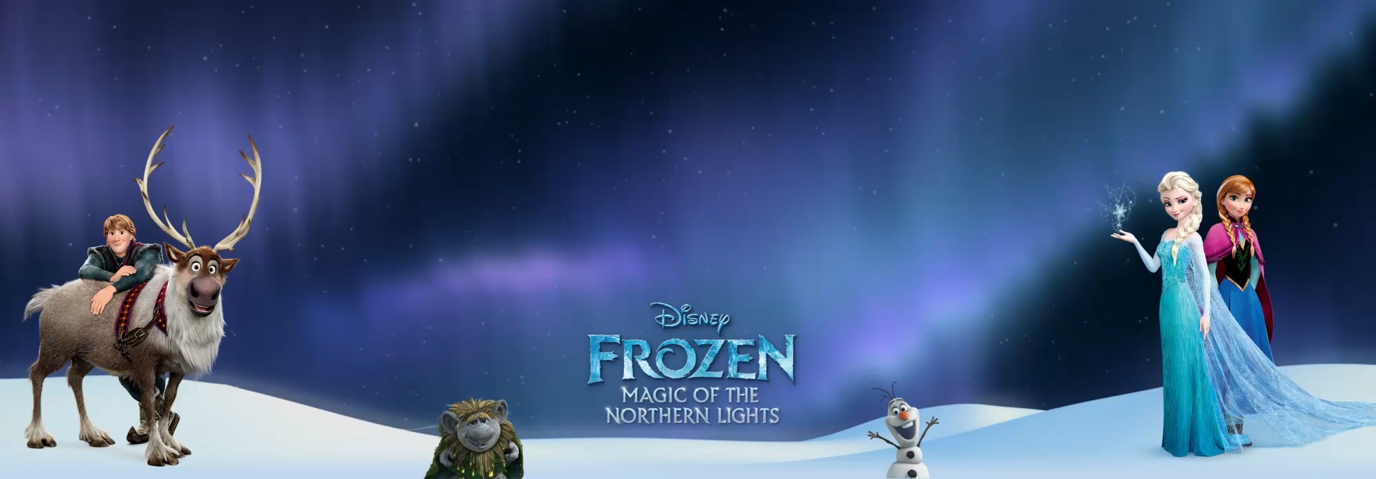 ZA Frozen Northern Lights Flex Hero Header