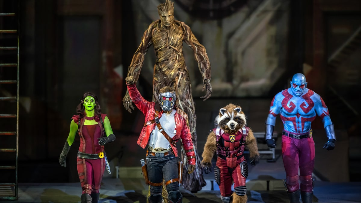 Marvel Universe Live Guardians of the Galaxy