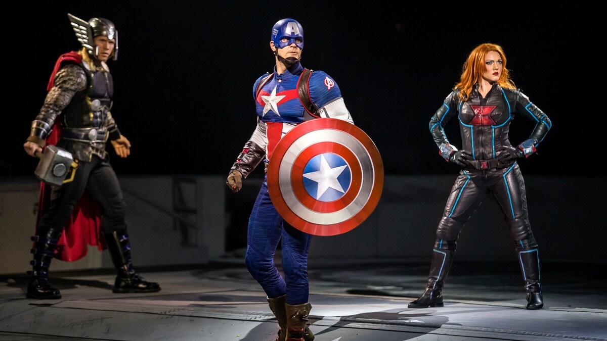 Marvel Universe Live Captian America
