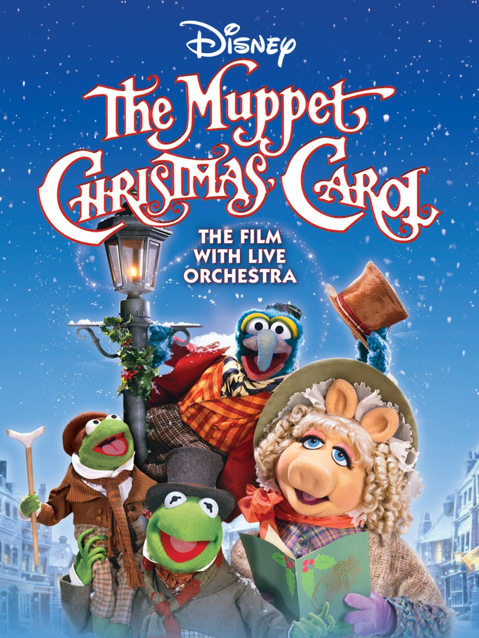 The cast of The Muppet Christmas Carol in Concert