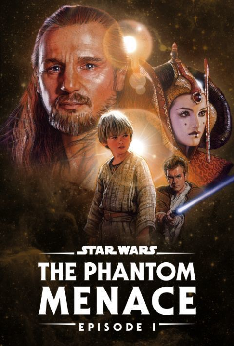 Disney Plus - Star Wars - Episode 1 - The Phantom Menace - Poster