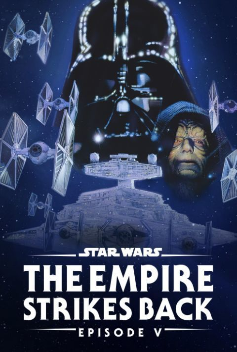 Disney Plus - Star Wars - Episode 5 - The Empire Strikes Back - Poster