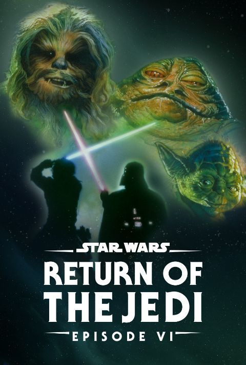 Disney Plus - Star Wars - Episode 6 - The Return of the Jedi - Poster
