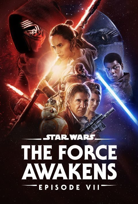 Disney Plus - Star Wars - Episode 7 - The Force Awakens - Poster