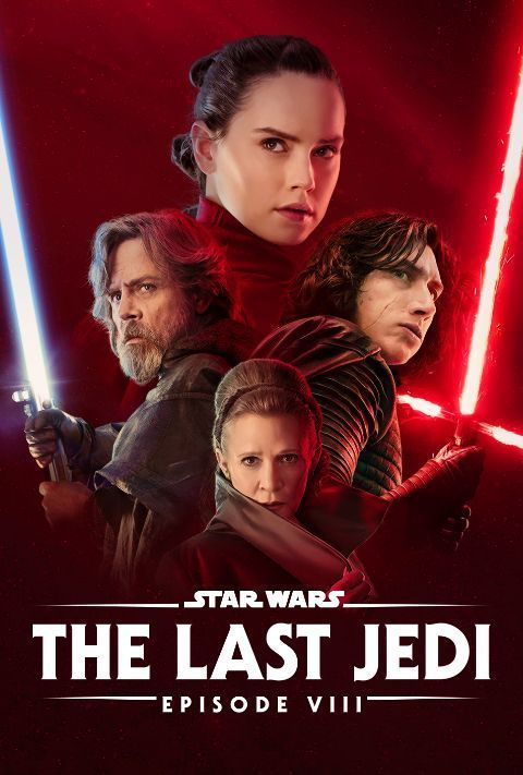 Disney Plus - Star Wars - Episode 8 - The Last Jedi - Poster