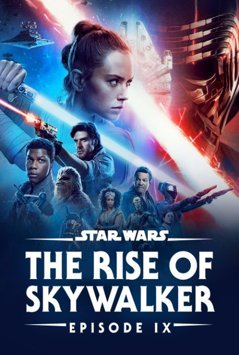 Disney Plus - Star Wars - Episode 9 - The Rise of Skywalker - Poster