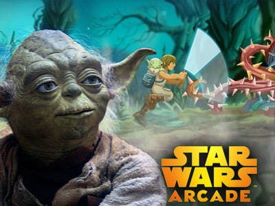 Yoda's Jedi-Training - Star Wars Arcade