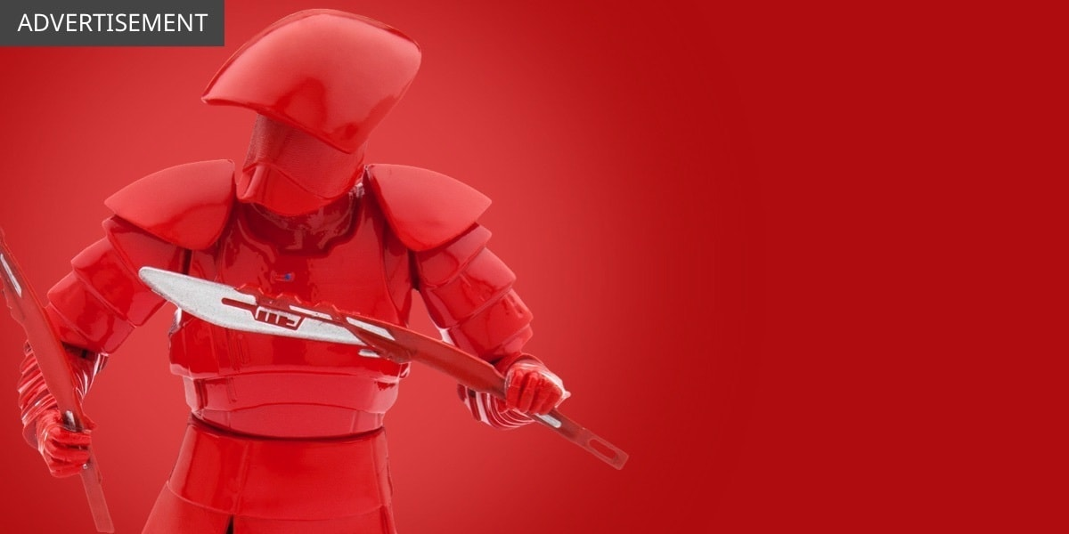 UK - Star Wars The Last Jedi - Featured Product - Elite Praetorian Guard - Flex Grid Object - Wide