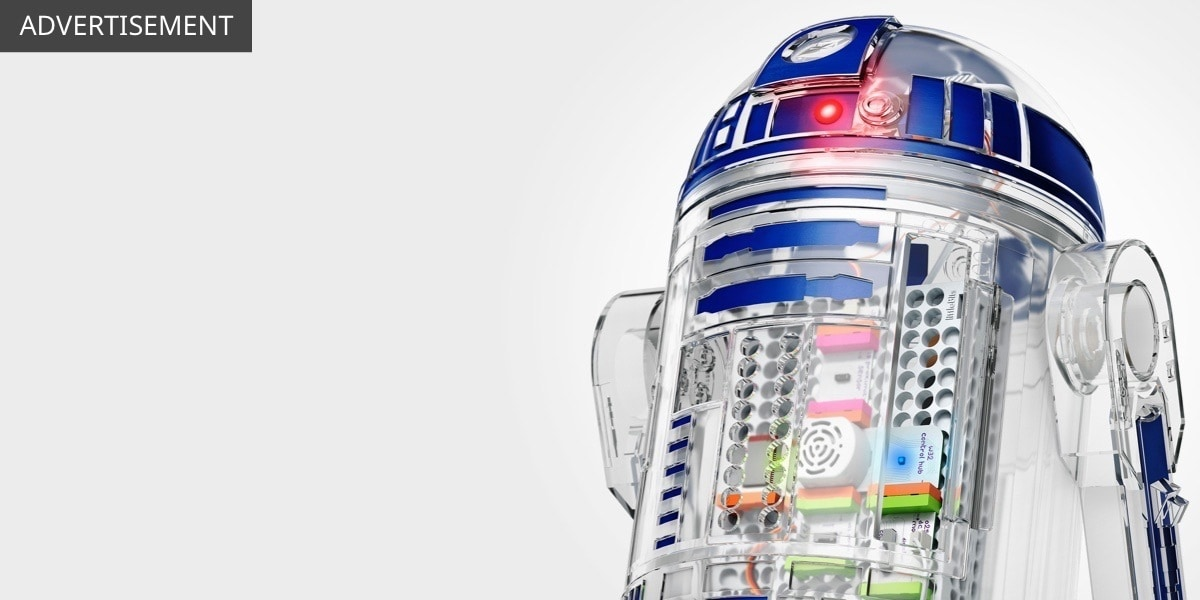 UK - Star Wars The Last Jedi - Featured Product - littleBits R2D2 - Flex Grid Object - Wide