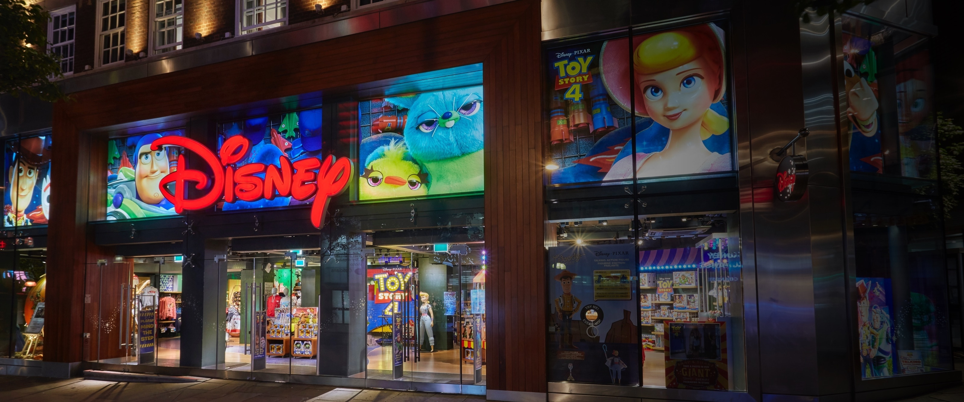 Disney Store comeptition is closed