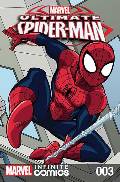 ULTIMATE SPIDER-MAN INFINITE DIGITAL COMIC #3: IT'S JUST OVERKILL!