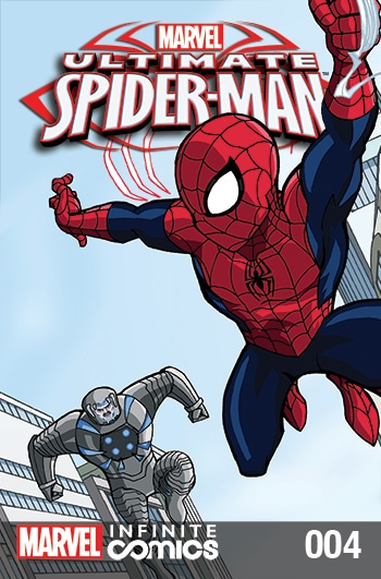 ULTIMATE SPIDER-MAN INFINITE DIGITAL COMIC #4: OUT TO GET YOU!
