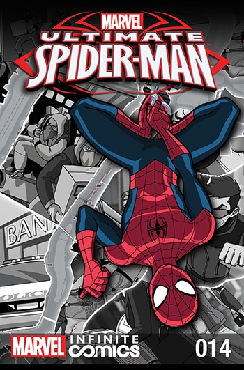 ULTIMATE SPIDER-MAN INFINITE DIGITAL COMIC #14: CRIME WEEK PART 3