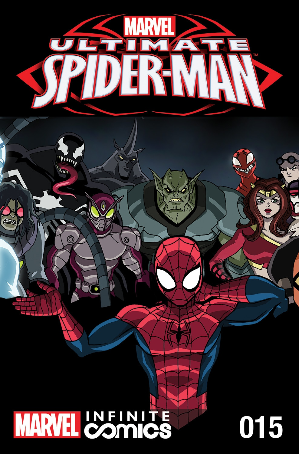 ULTIMATE SPIDER-MAN INFINITE DIGITAL COMIC #15: CRIME WEEK PART 4