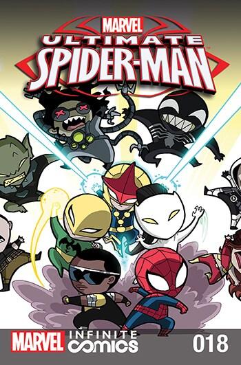 ULTIMATE SPIDER-MAN INFINITE DIGITAL COMIC #18: CRIME WEEK PART 7