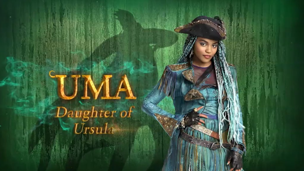Meet Uma | Disney Descendants 2