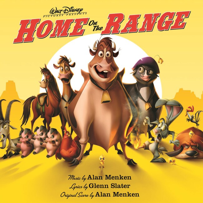 Home On The Range: Soundtrack