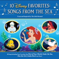 10 Disney Favourites: Songs from the Sea
