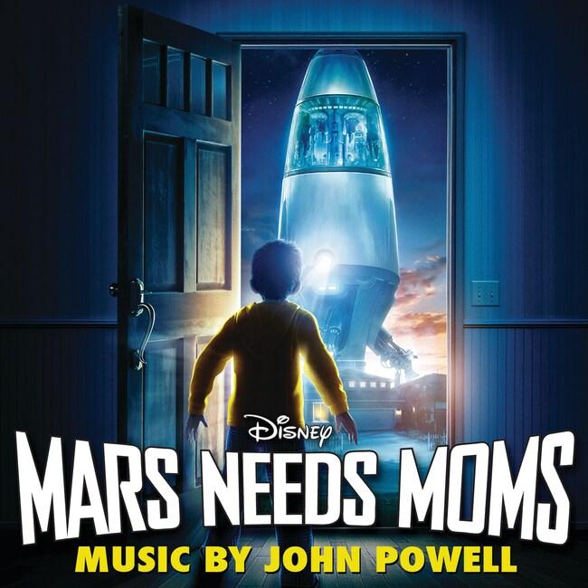 Mars Needs Moms: Soundtrack