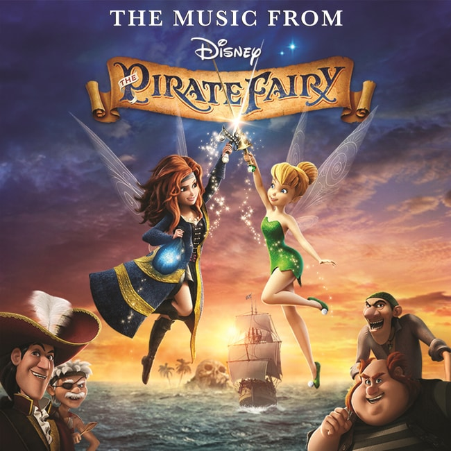 The Music From The Pirate Fairy: Soundtrack