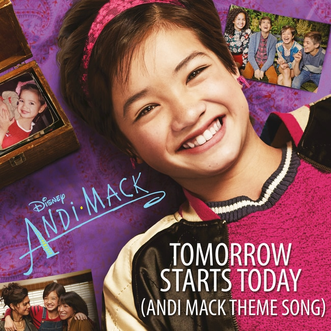 Sabrina Carpenter - Tomorrow Starts Today (Andi Mack Theme Song)