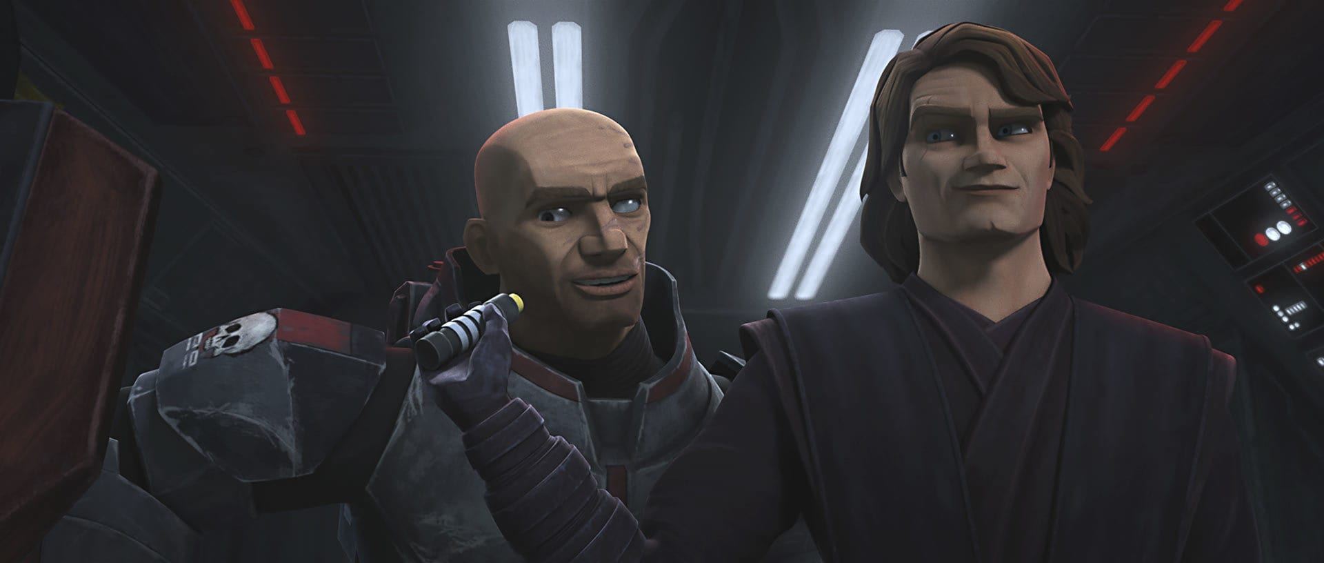Wrecker and Anakin