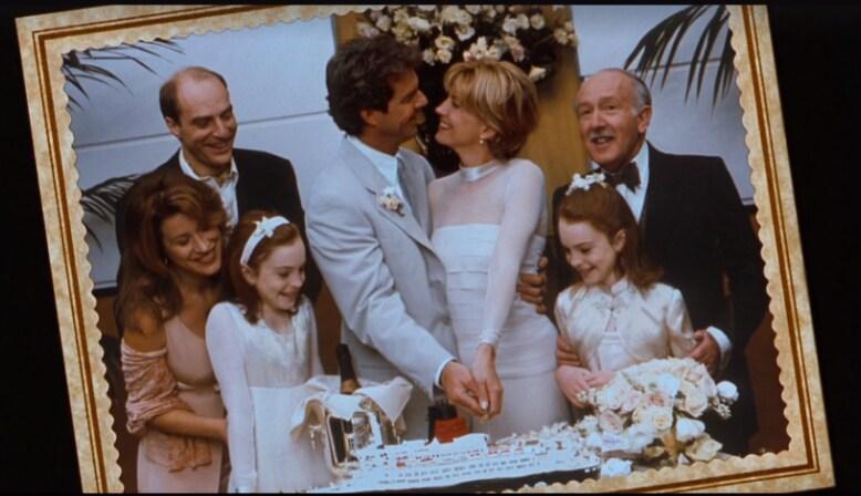 Casamento dos pais de Annie e Hallie