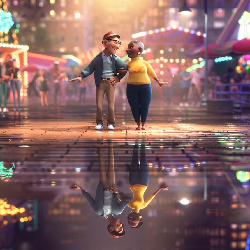 """A Behind-the-Scenes Look at Disney Animation Short, """"Us Again,"""" With Keone and Mari Madrid"""