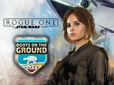 Rogue One: Boots on the Ground - Star Wars-Arkad