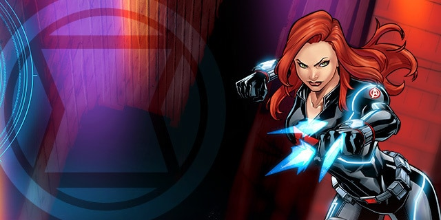 Black Widow Avengers Characters Marvel Hq