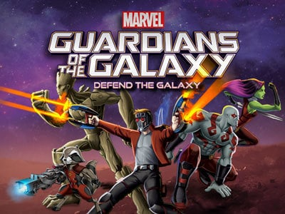 Guardians of the Galaxy: Defend The Galaxy