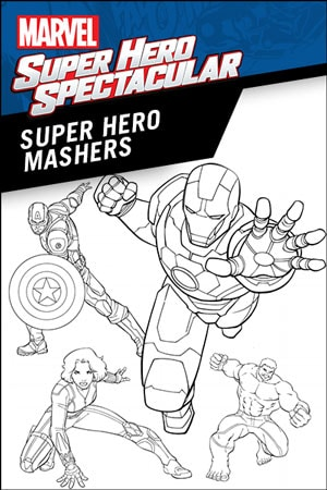 Marvel Super Hero Mashers Activity Pages
