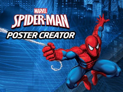 Create Your Own Spider-Man Poster