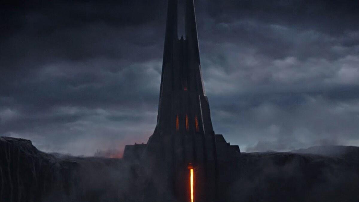 Vader's Castle on Mustafar