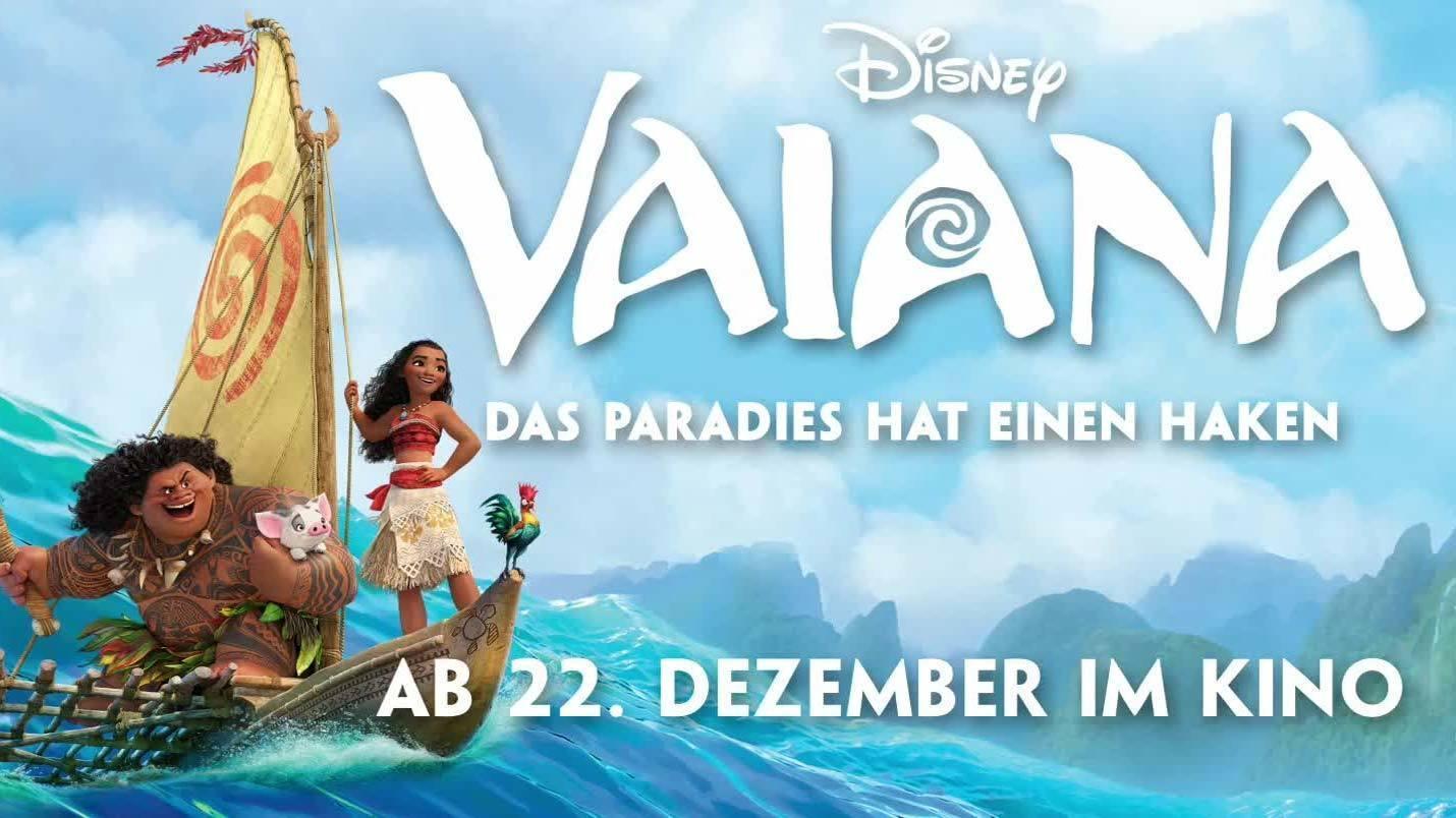 VAIANA - 2. offizieller Trailer - Weihnachten 2016 im Kino | Disney HD