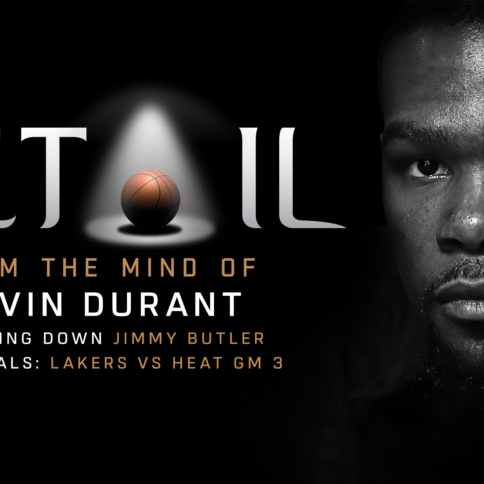 NBA Superstar Kevin Durant Joins Detail Exclusively on ESPN+